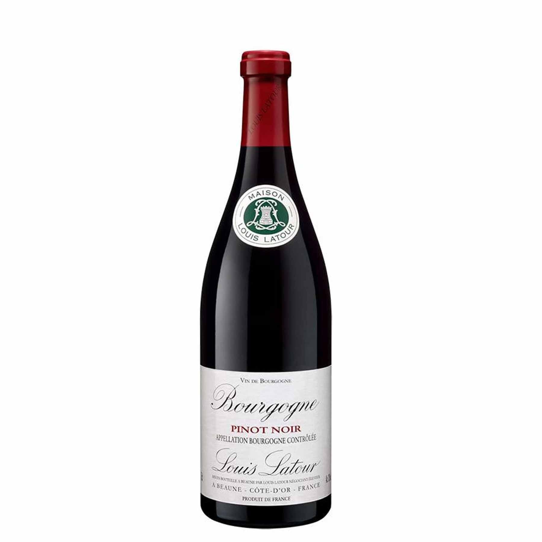 Vinho Tinto Francês L.Latour Bourgogne Pinot Noir 2018 375ml