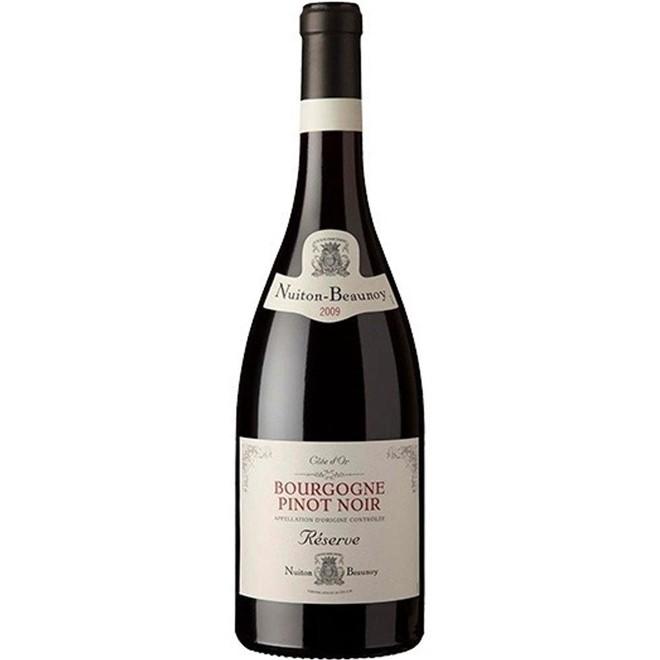 Vinho Tinto Francês Nuiton-beaunoy Reserve Pinot Noir 750ml