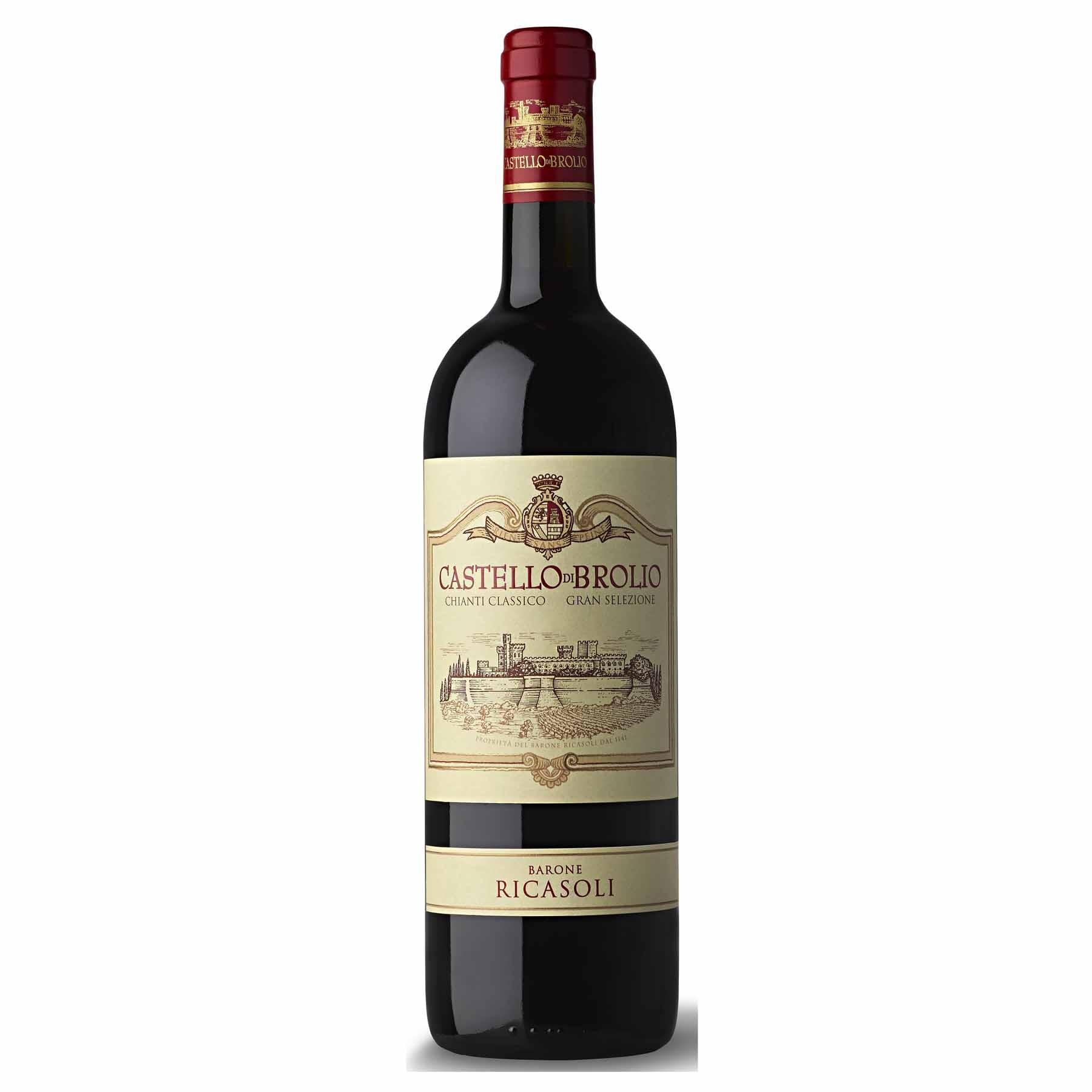Vinho Tinto Italiano Castello Di Brolio Chianti Classico Ricasoli 2011
