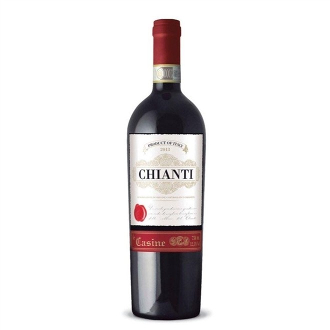 Vinho Tinto Italiano Le Casine Chianti 750ml