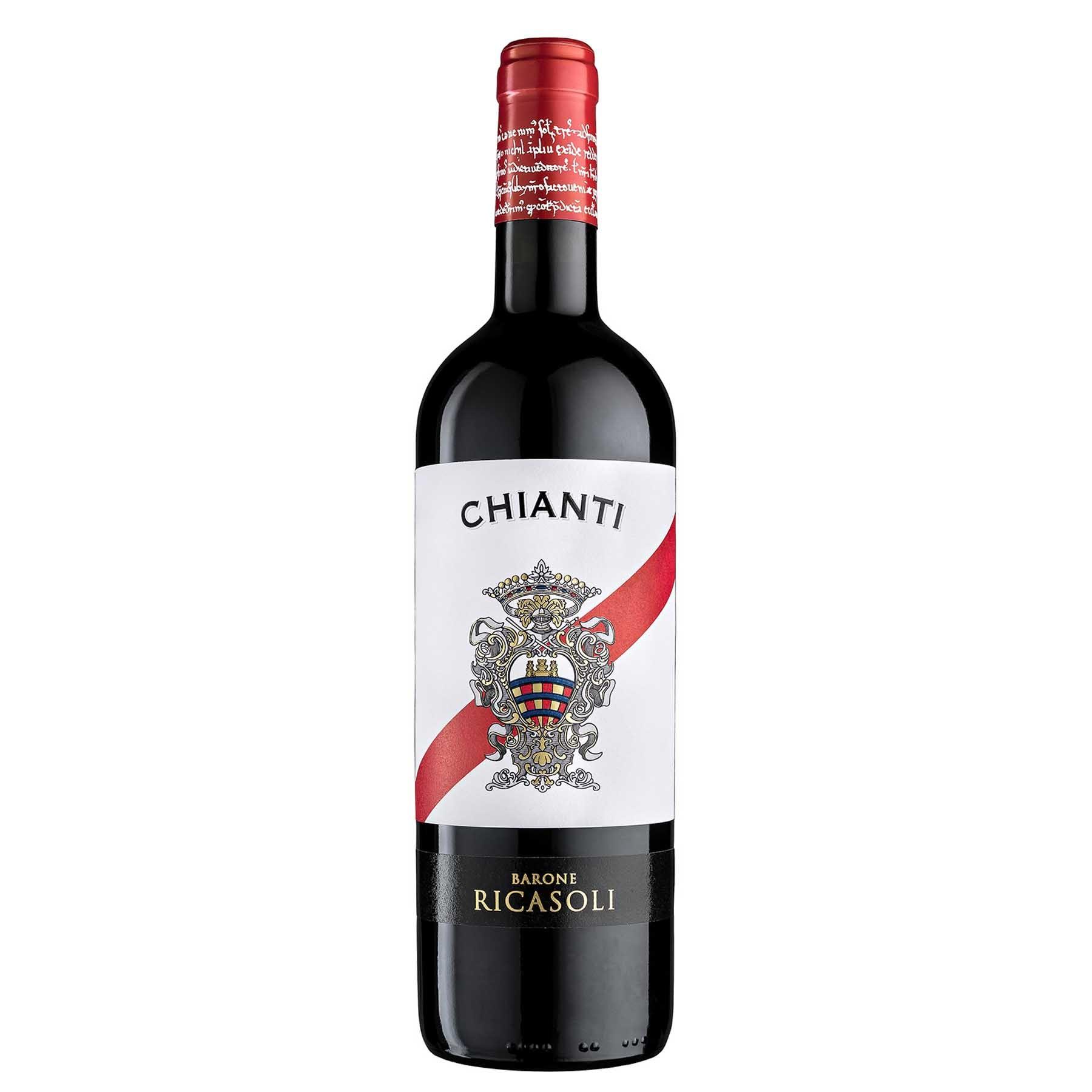 Vinho Tinto Italiano Ricasoli Chianti del Barone 2018