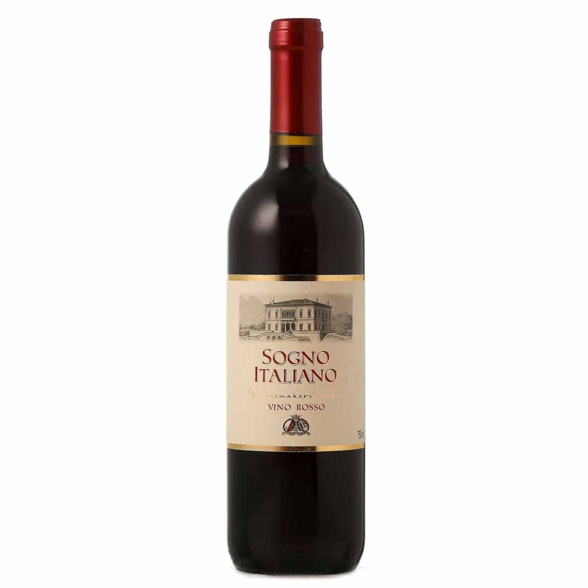 Vinho Tinto Italiano Sogno Italiano Vino Rosso 750ml