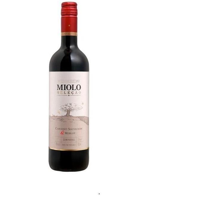 Vinho Tinto Miolo Seleção Cabernet Sauvignon Merlot 750ml