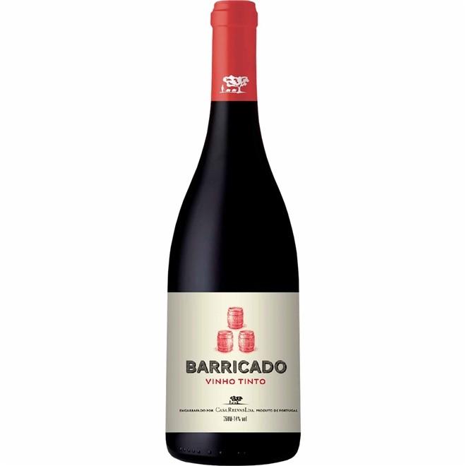 Vinho Tinto Português Barricado 750ml