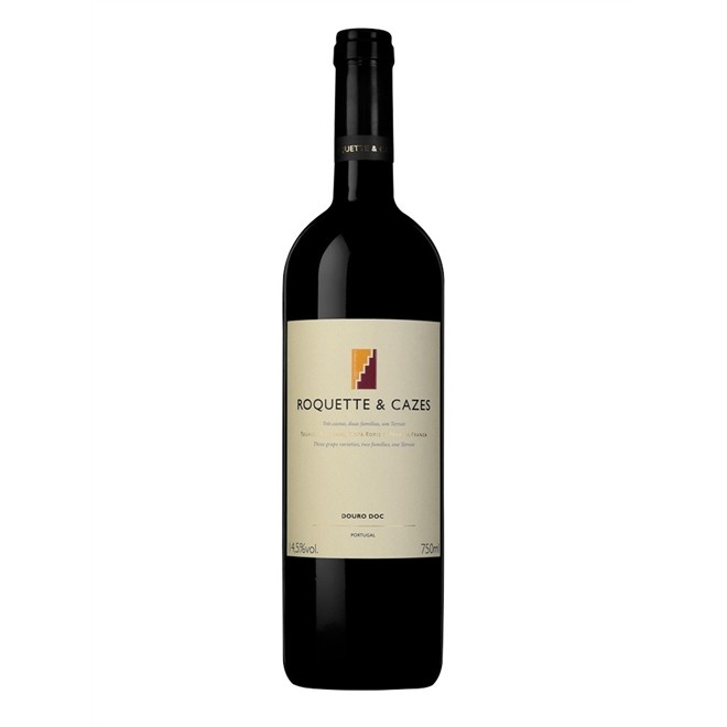 Vinho Tinto Português Douro Roquette e Cazes 2017 750ml