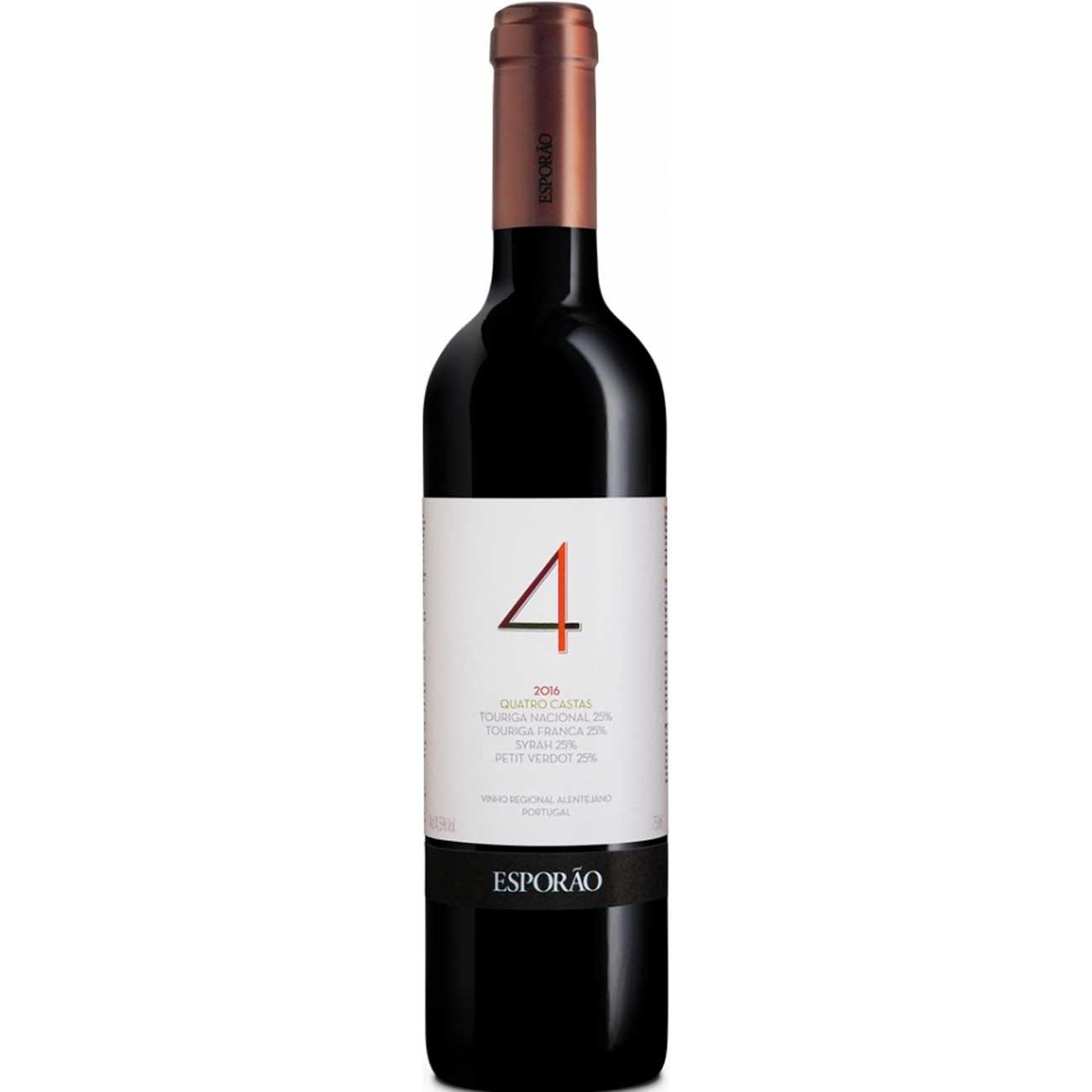 Vinho Tinto Português Esporão 4 Castas 2018 750ml