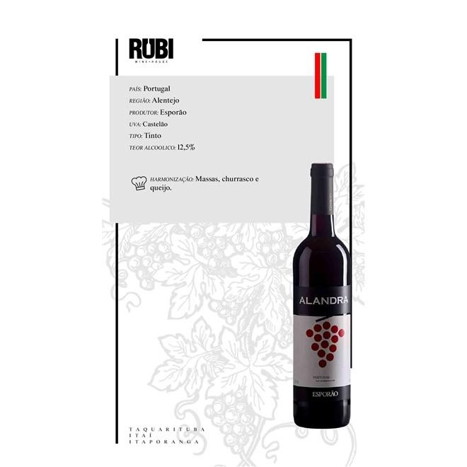 Vinho Tinto Português Esporão Alandra 750ml