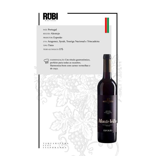 Vinho Tinto Português Esporão Monte Velho 750ml