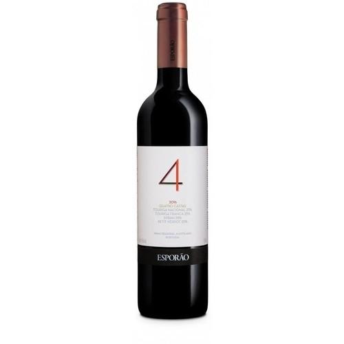 Vinho Tinto Português Esporão Quatro Castas 750ml 2017