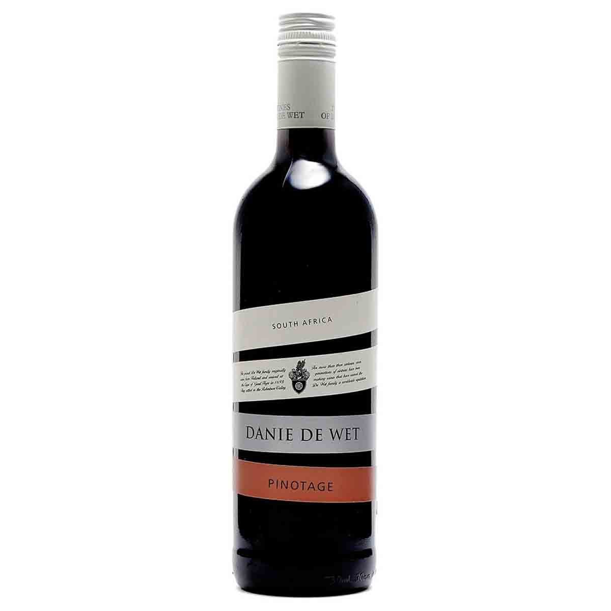 Vinho Tinto Sul-Africano Danie De Wet Pinotage 2018 750ml
