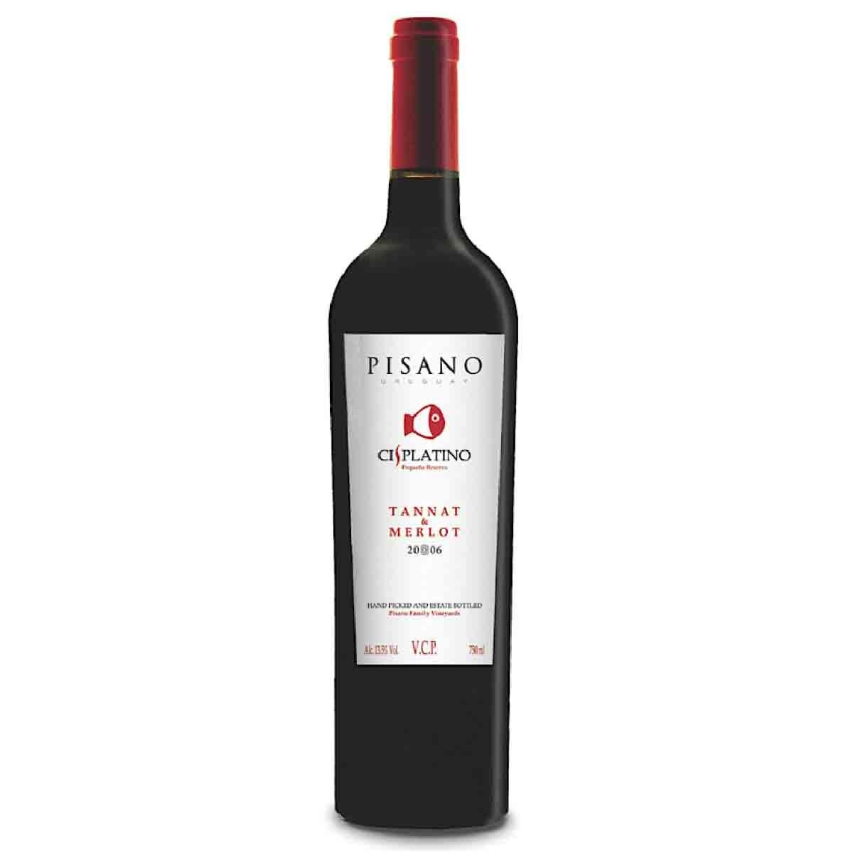 Vinho Tinto Uruguaio Cisplatino Tannat/Merlot 2017 750ml