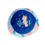 Chapéu Bebê Cavalo Marinho c/ Proteção UV 50+ Azul Everly