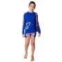 Conjunto Infantil Tubarão c/ Proteção UV 50+ Vermelho Everly