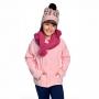 Gola Acrílica c/ Pompom Pink Everly