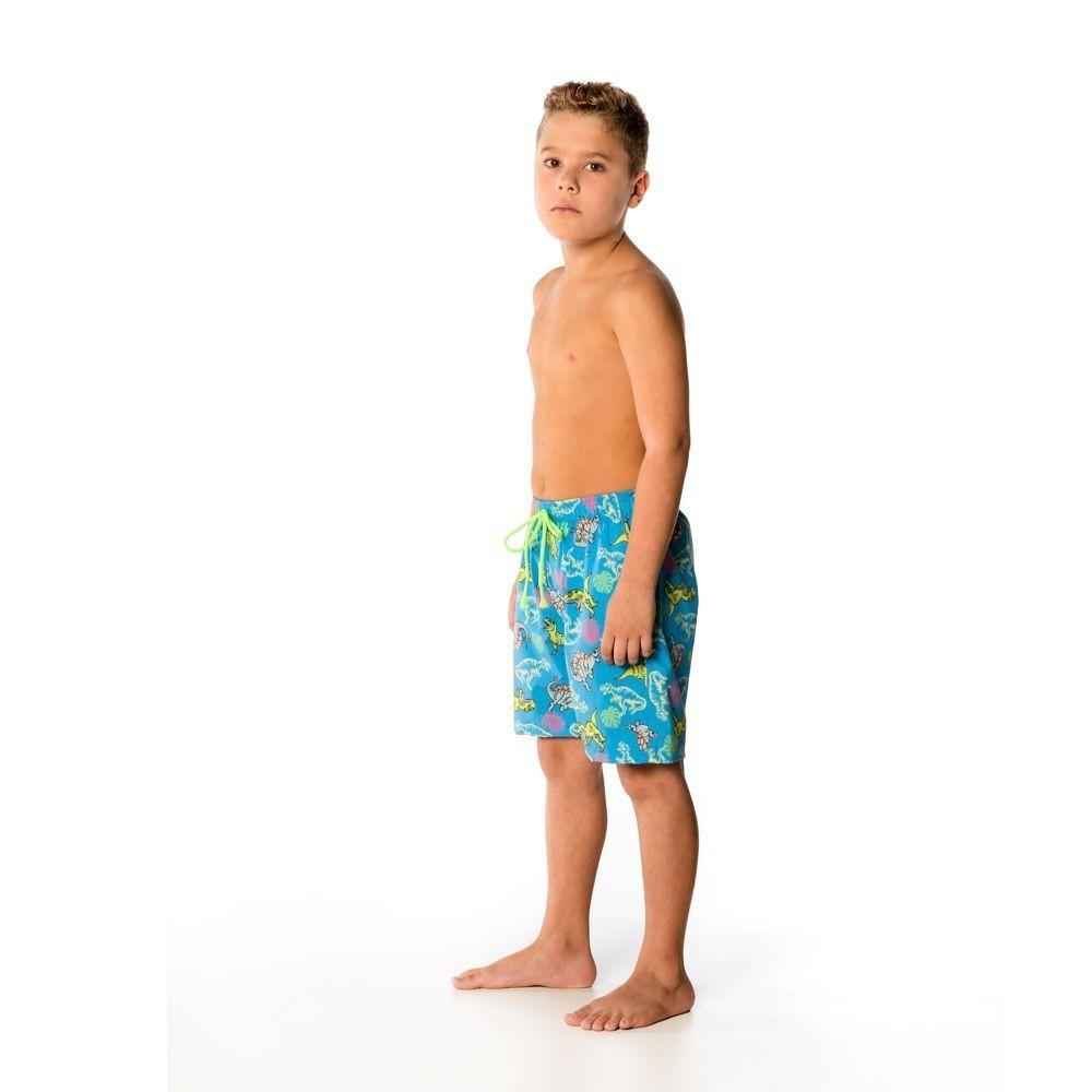 Bermuda Infantil Dino UV 50+ Everly