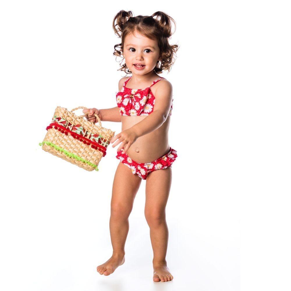 Biquíni Bebê Margarida UV 50+ Everly
