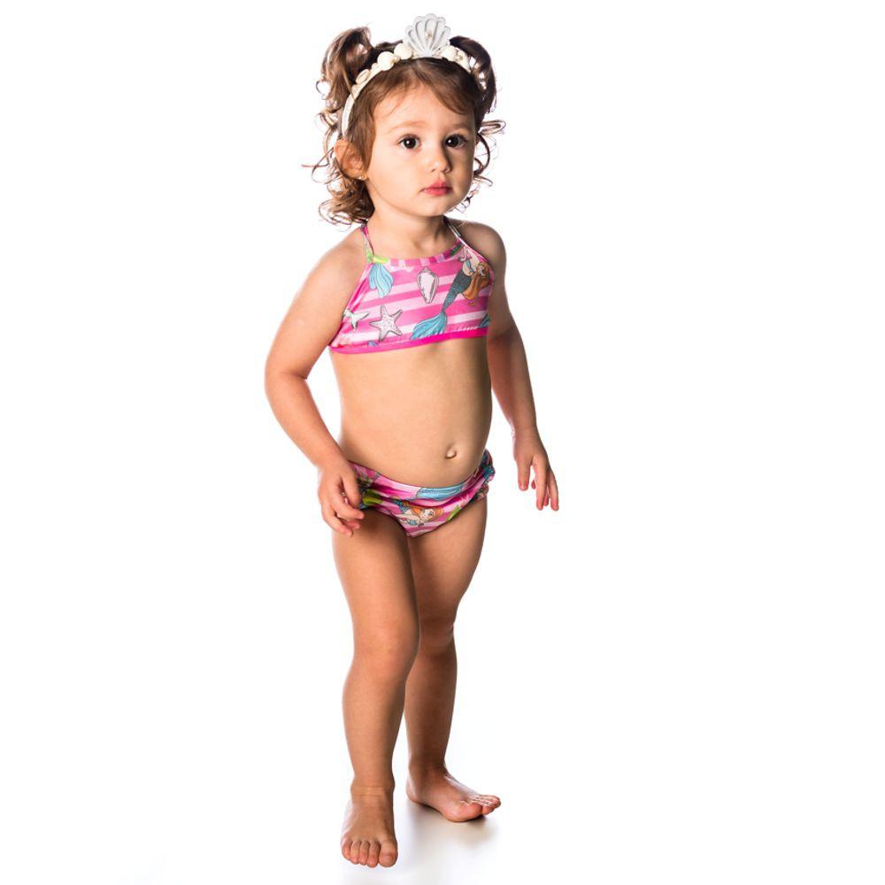 Biquíni Bebê Sereia UV 50+ Everly