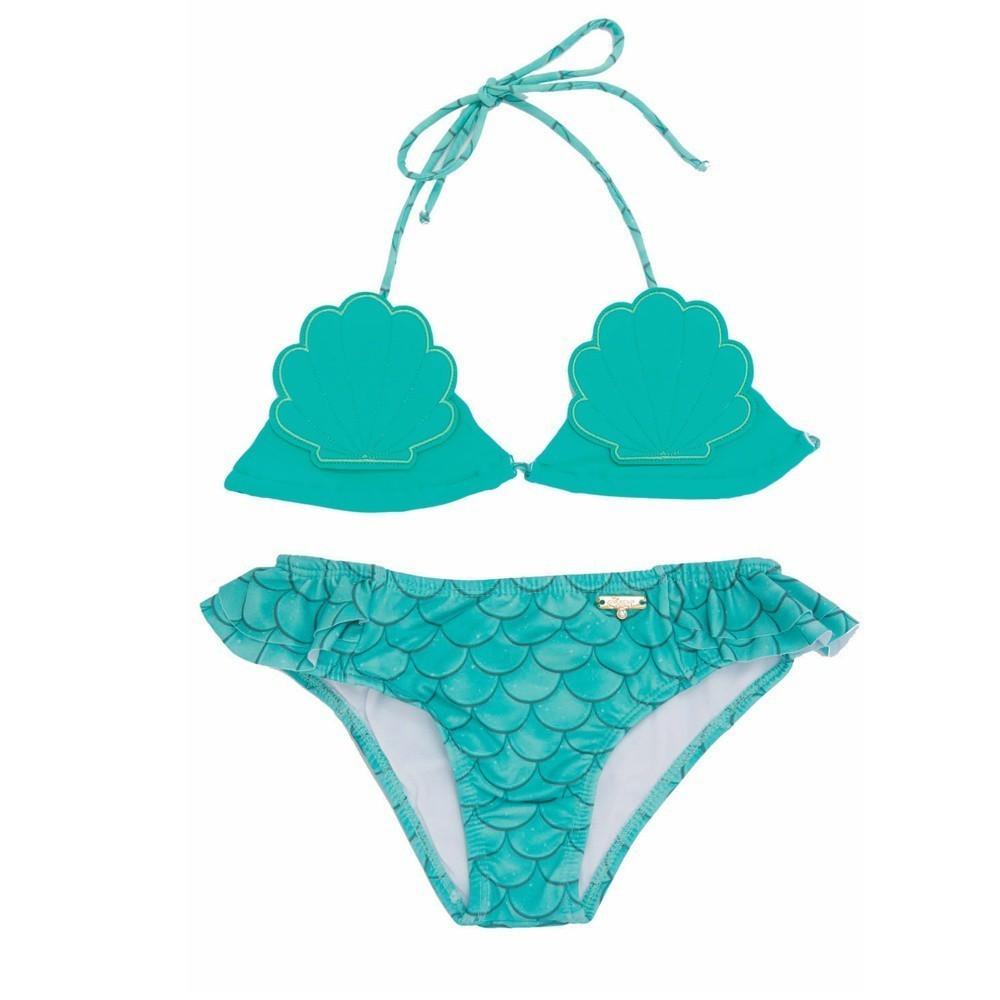 Biquíni Infantil Sereia UV 50+ Everly