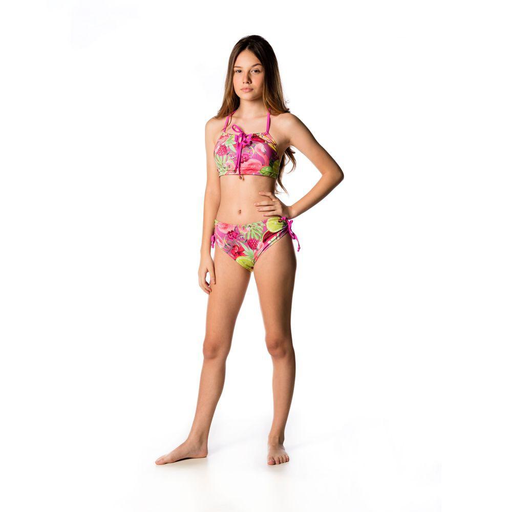 Biquíni Teen Flamingo UV 50+ Everly