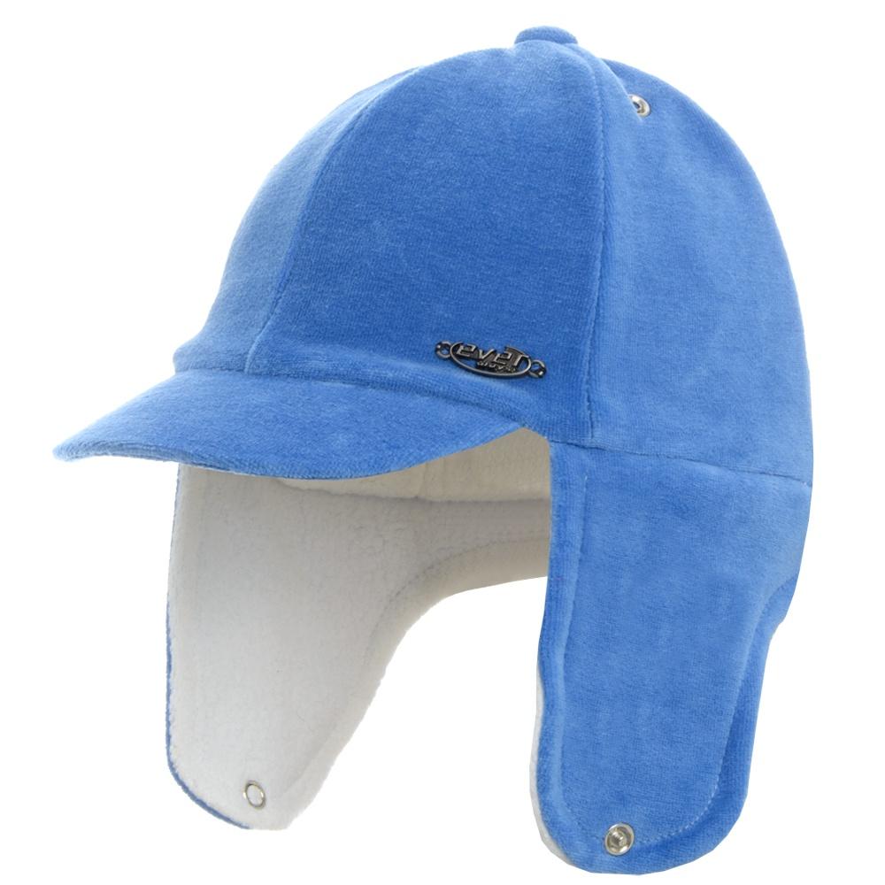 Boné Bebê Liso c/ Orelha Azul Everly