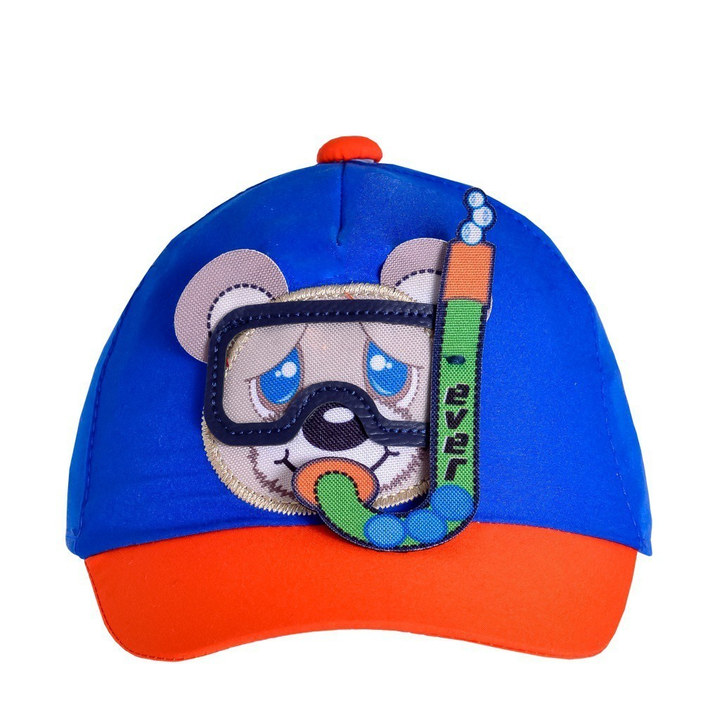 Boné Bebê Urso Mergulhador Everly