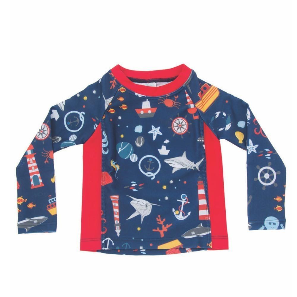 Camiseta Bebê Náutico Everly UV 50+