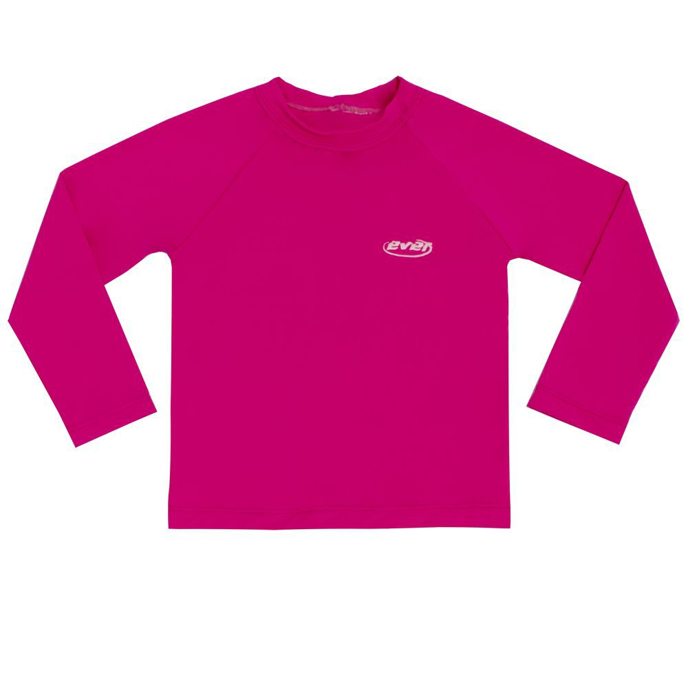 Camiseta Infantil Lisa Manga Longa UV 50+ Everly