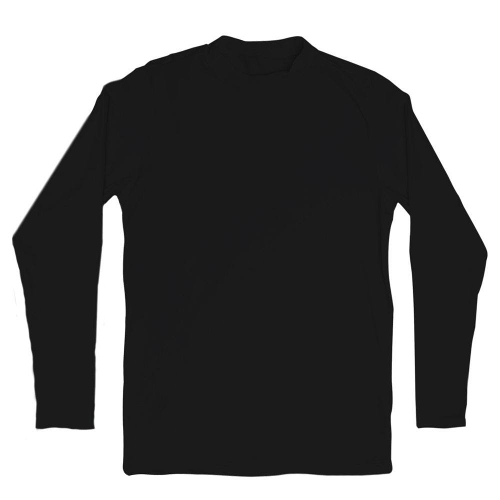Camiseta Térmica Adulto Tecnologia Thermo Dry Preto Everly