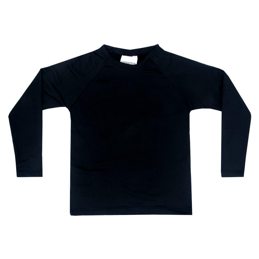 Camiseta Térmica Bebê Preto Everly
