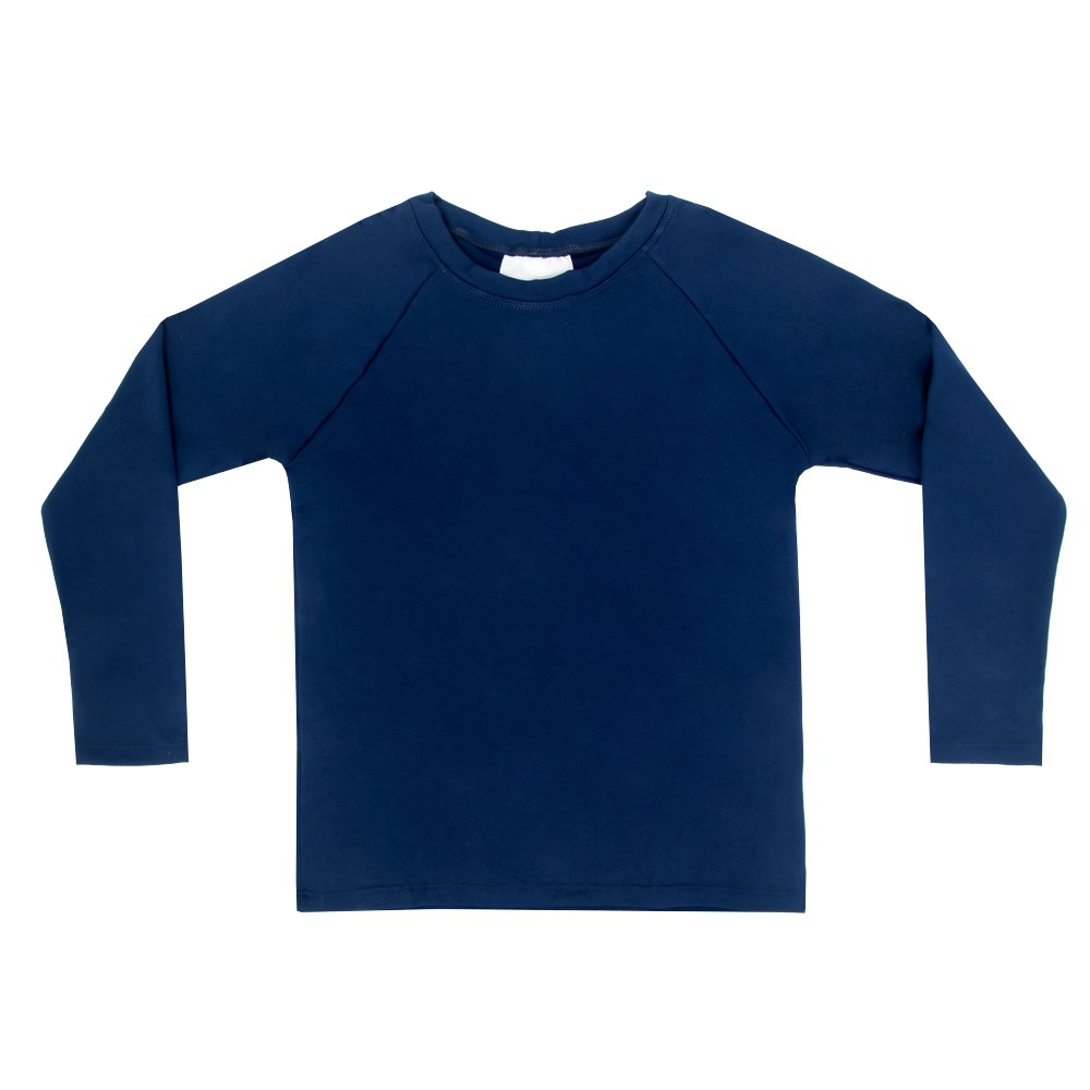 Camiseta Térmica Infantil Marinho Everly