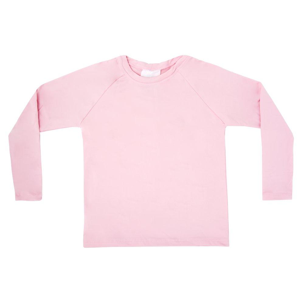 Camiseta Térmica Infantil Rosa Everly