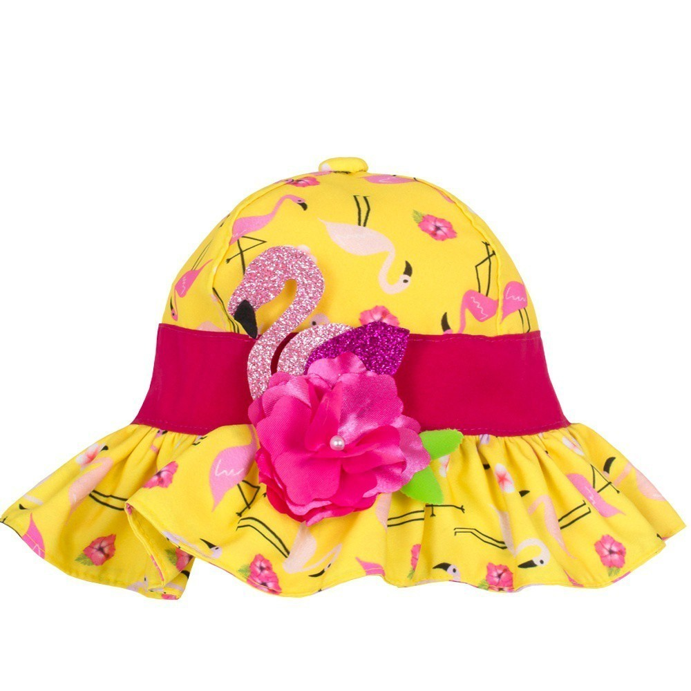 Chapéu Bebê Flamingo Everly