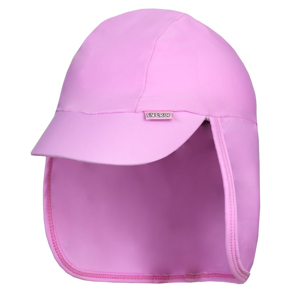 Boné Recém-Nascido c/ Protetor de Pescoço UV 50+ Everly