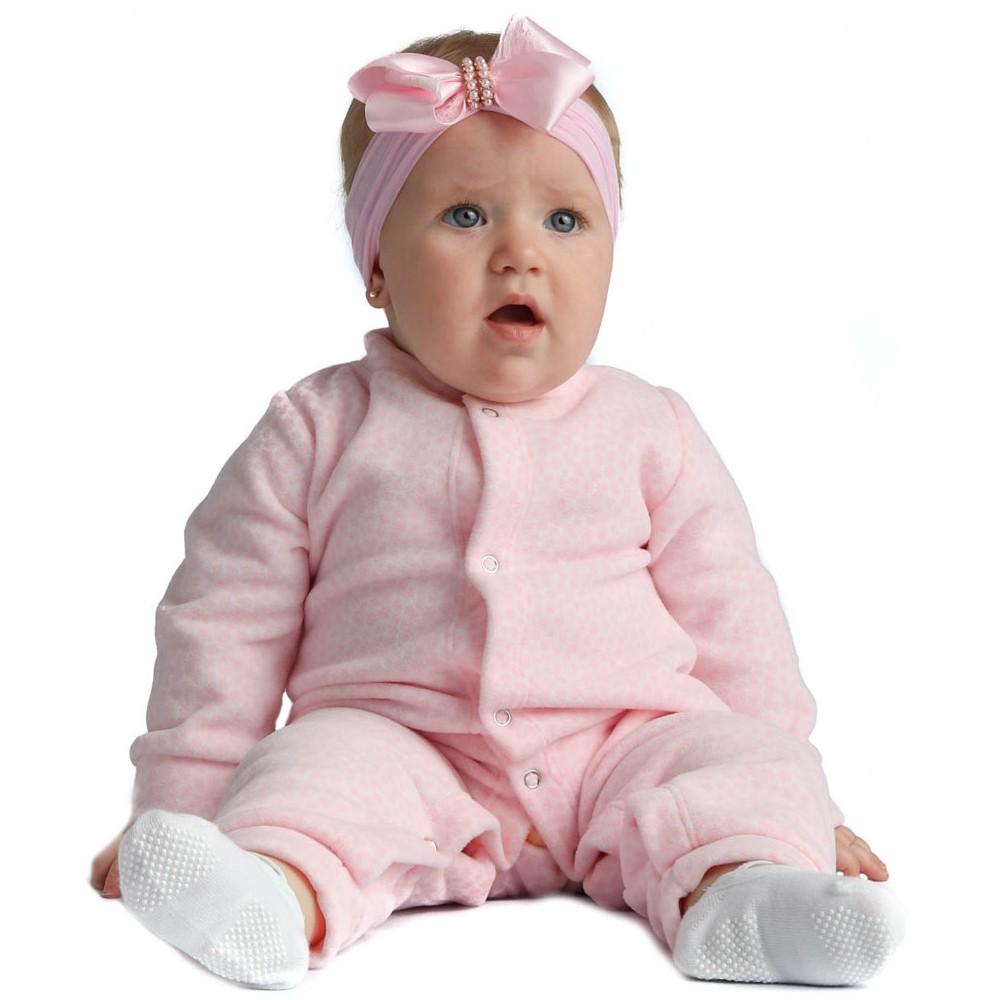 Macacão Pijama Bebê Microsoft Estampado Everly