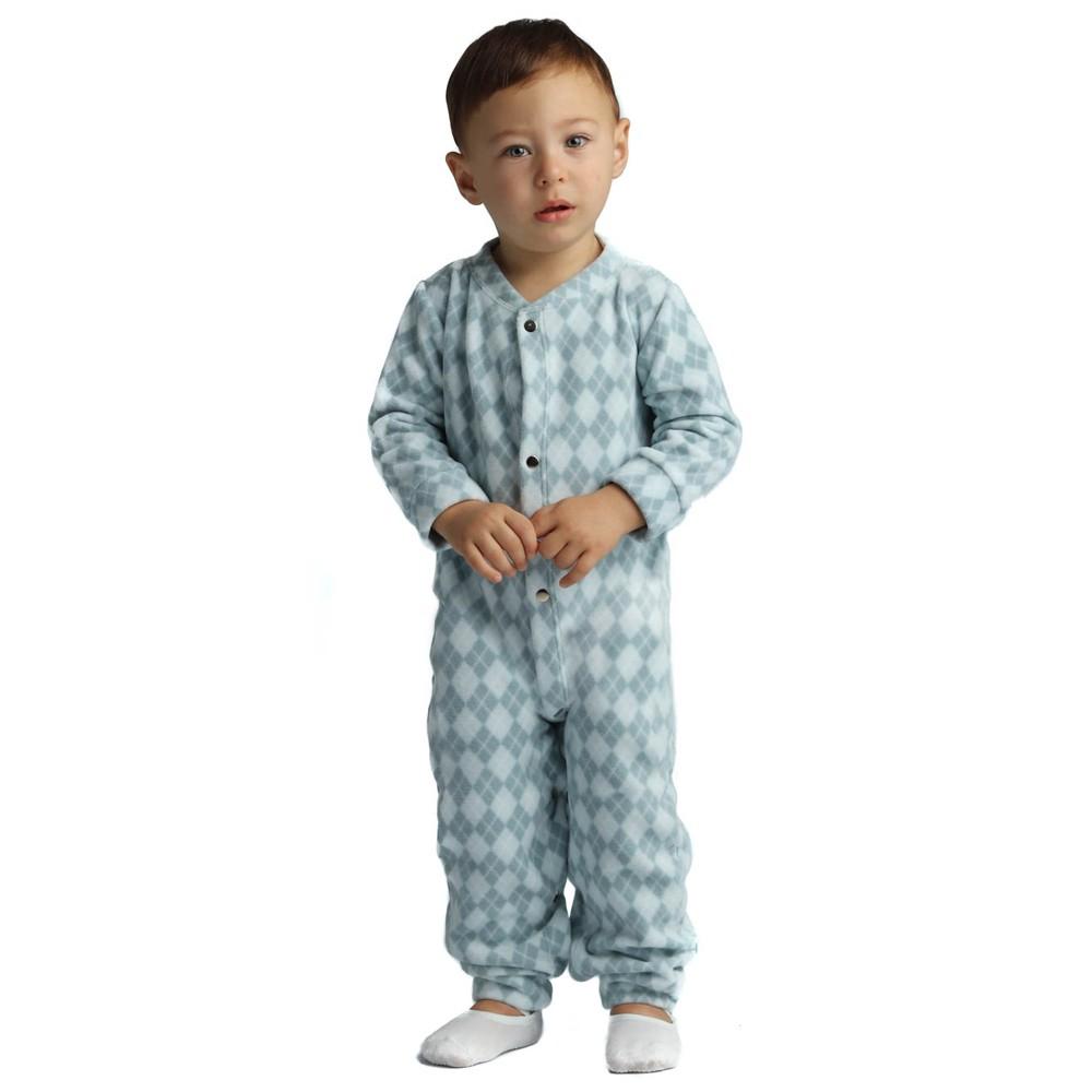 Macacão Pijama Primeiros Passos Microsoft Estampado Everly