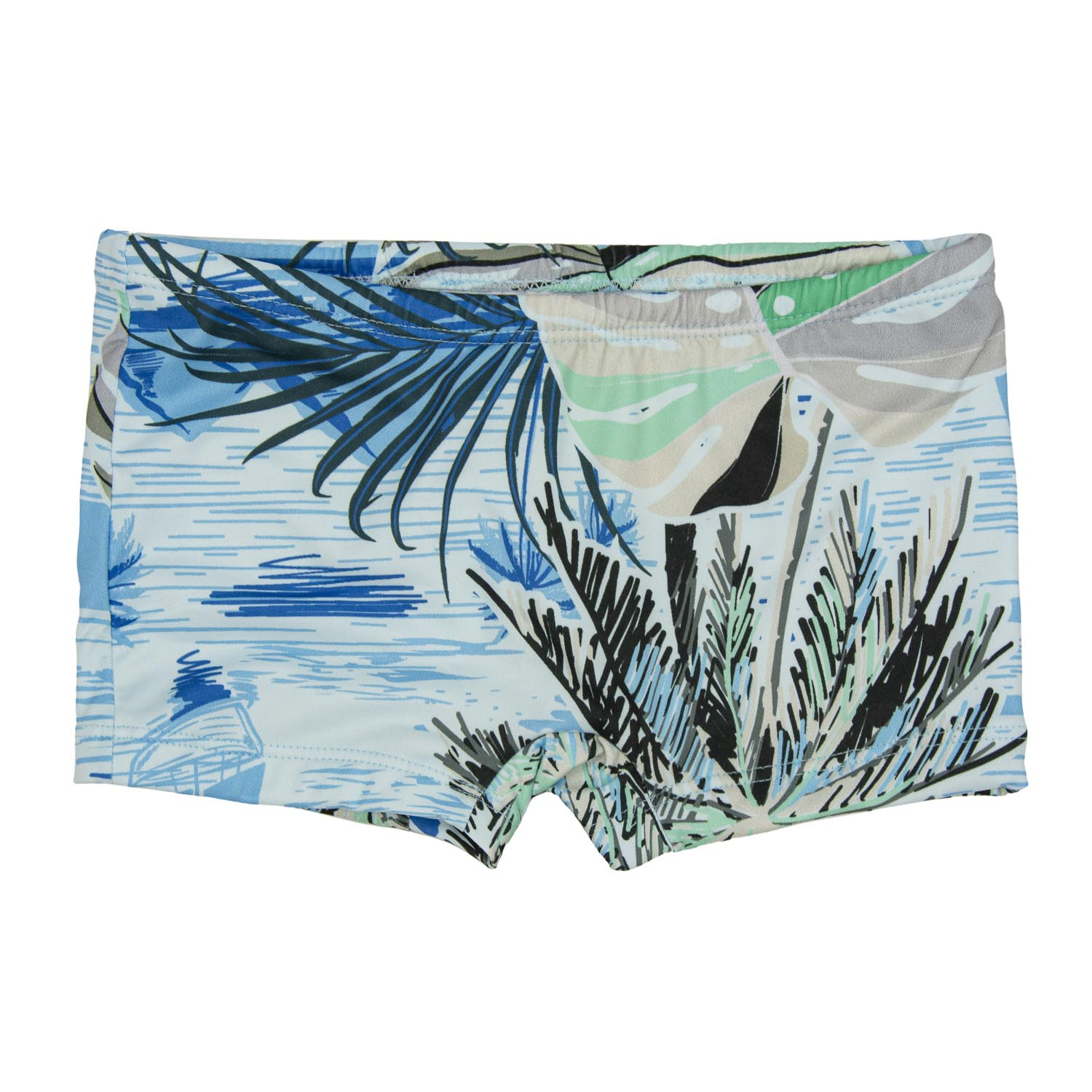 Sunga Boxer Bebê Tropical UV 50+ Everly