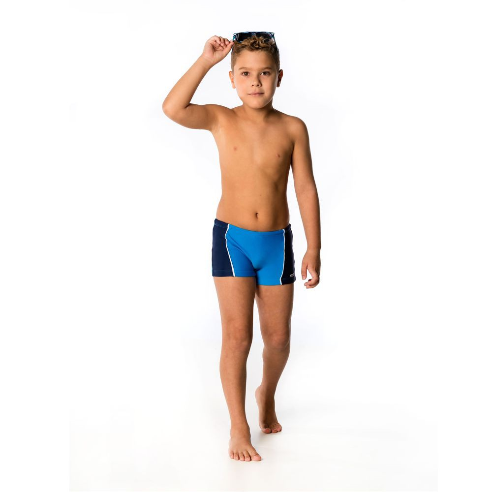 Sunga Boxer Infantil c/ Recorte UV 50+ Everly