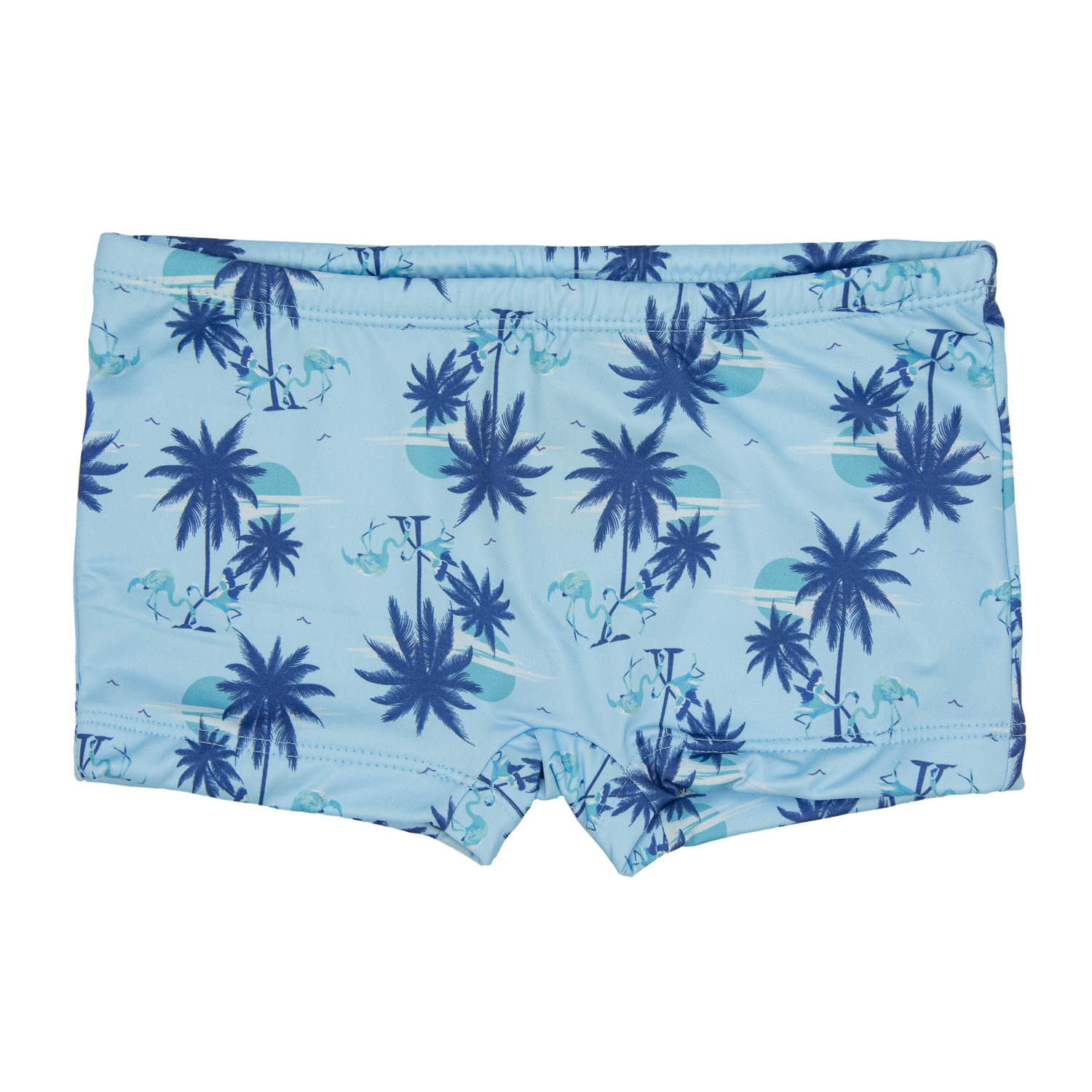 Sunga Boxer Infantil Coqueiros UV 50+ Everly
