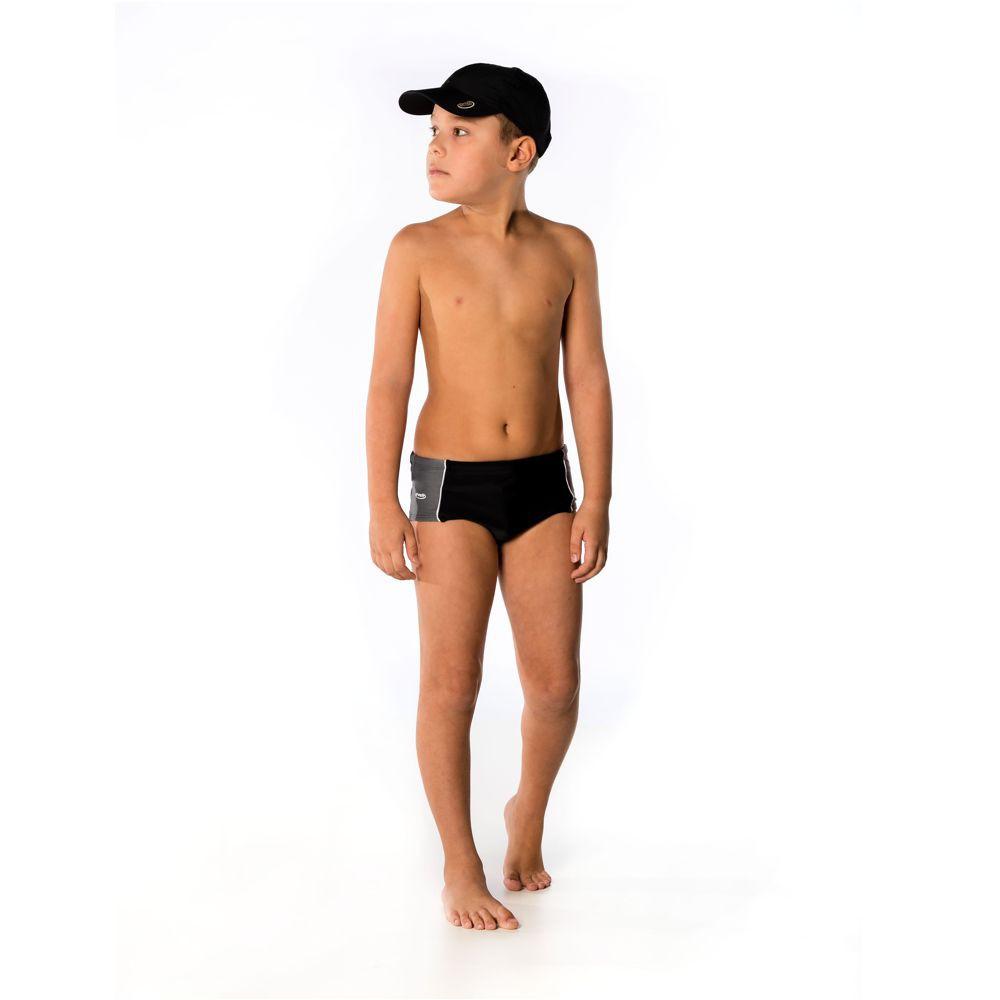 Sunga Infantil c/ Recorte Proteção UV 50+ Everly