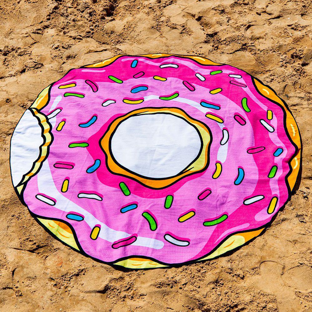 Toalha Colorida Donuts Everly