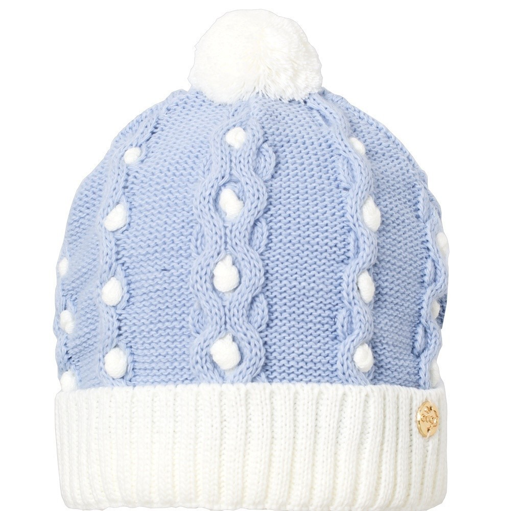 Touca Acrílica Everly Infantil Mini Pompom