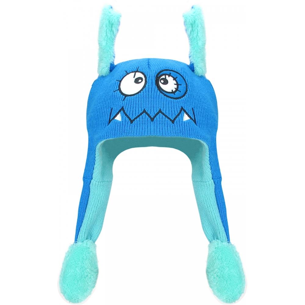 Touca Mexe Orelha Monstro Azul Everly