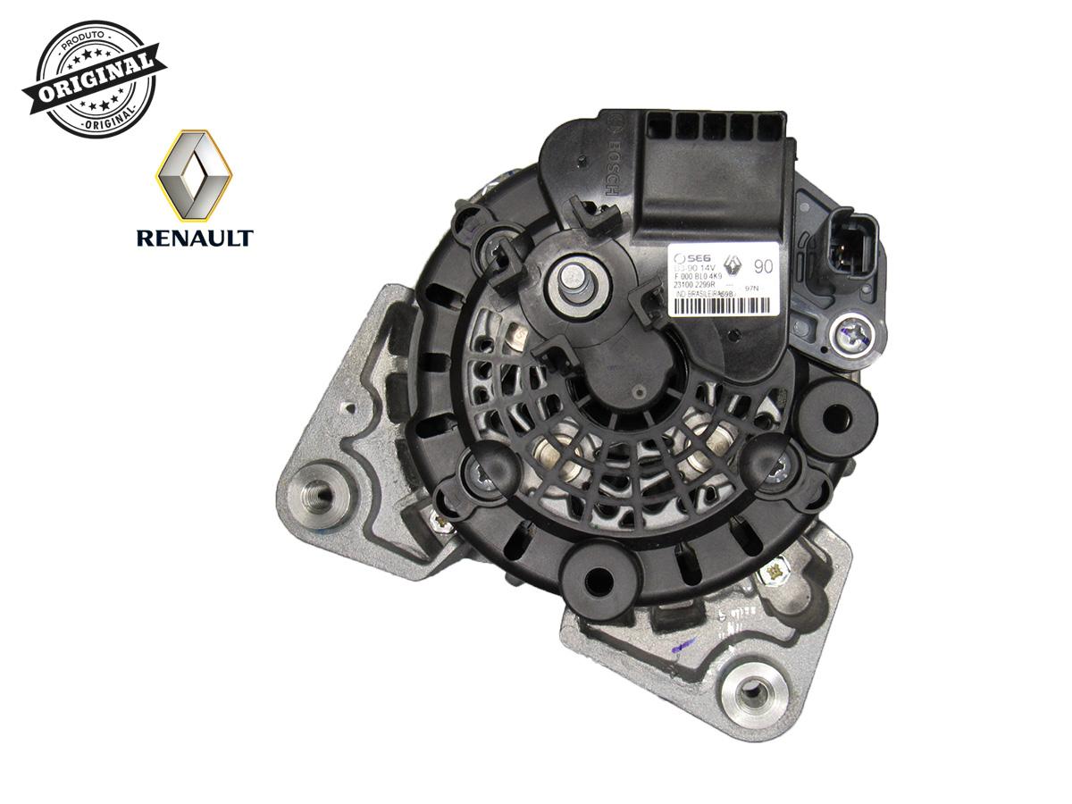 Alternador Motor K4M 1.6 16v Renault Logan/Sandero/Duster Bosch B3 90a 14v F000bl04  - Auto Peças L´equipe France