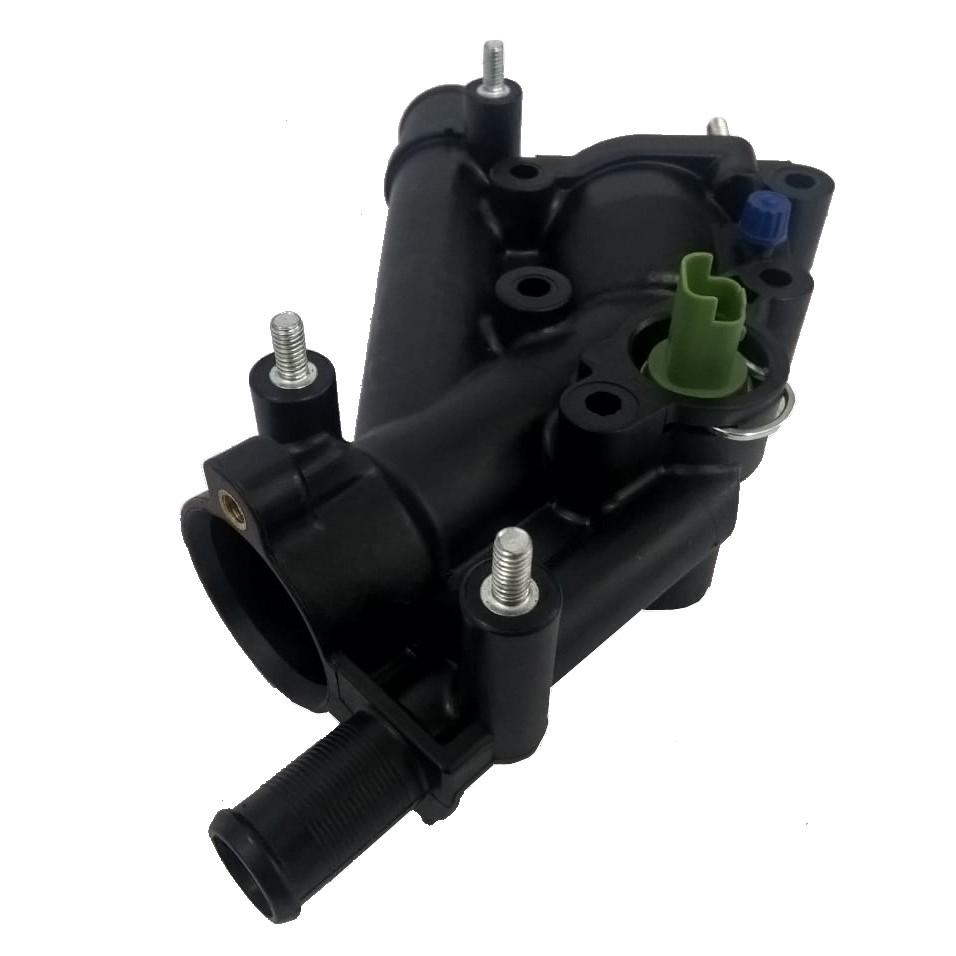 CARCACA DA VALV. TERMOSTATICA MOTOR 2.0 16V GAS/FLEX PEUGEOT 307/CITROEN C4/C5 2.0 16V C/ SENSOR