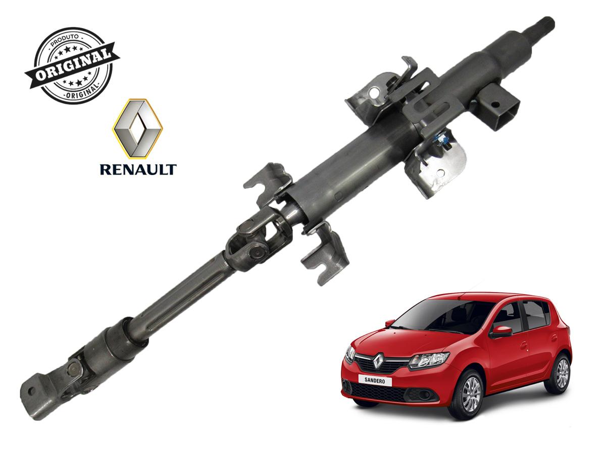 Coluna de Direção Renault Logan II e Sandero II  - Auto Peças L´equipe France