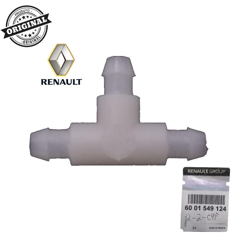 Conexão de Plástico Para Tubo do Esguicho Renault Logan /Sandero/Duster  - Auto Peças L´equipe France