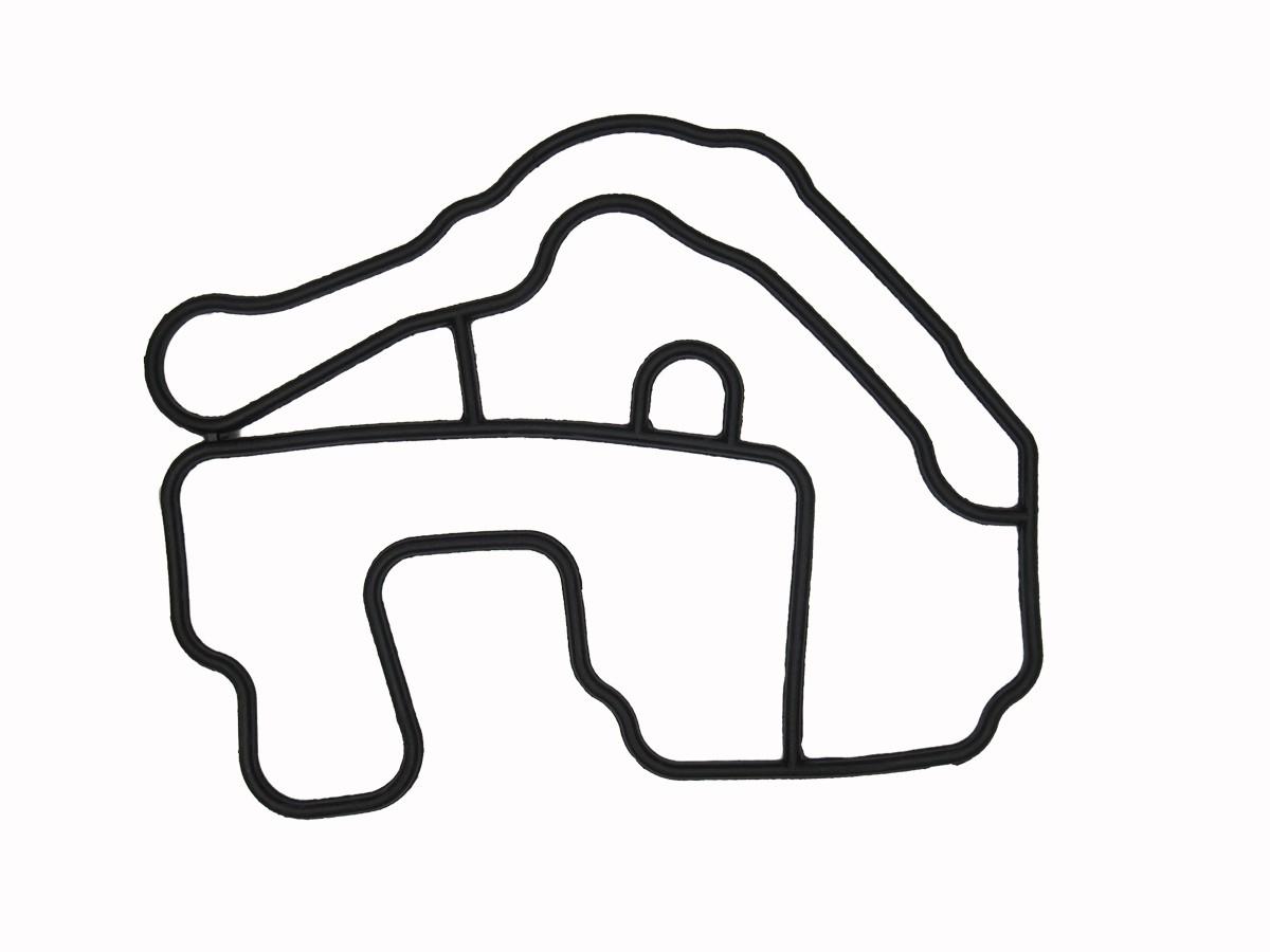 Junta Da Carcaça Da Válvula Term. 1.6/2.0 16v (K4m/F4r) Renault Megane/Clio/Scenic/Kangoo/Duster/Logan/Sandero/Symbol (Silicone)  - Auto Peças L´equipe France
