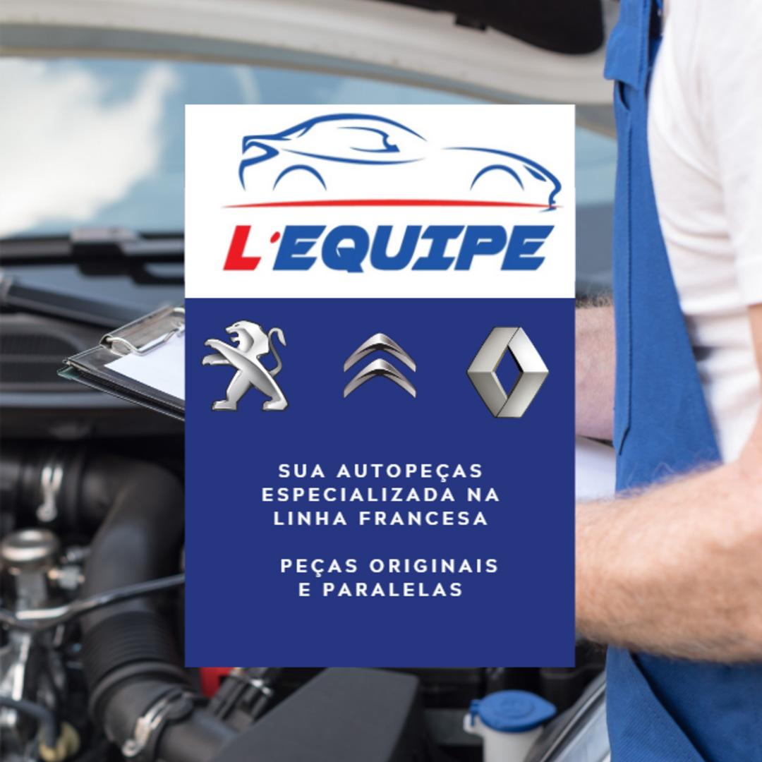 Kit Amortecedor Do Porta Malas Peugeot 207 Passion.  - Auto Peças L´equipe France