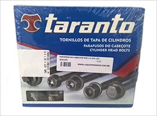 PARAFUSO DO CABECOTE (JOGO) D4D 1.0 16V RENAULT CLIO/KANGOO/LOGAN/SANDERO/TWINGO