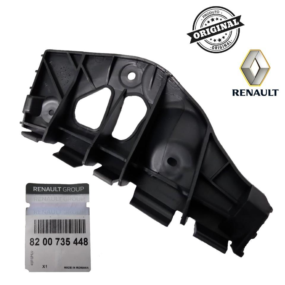 Suporte Traseiro Esquerdo do Parachoque Renault Sandero ...2013  - Auto Peças L´equipe France